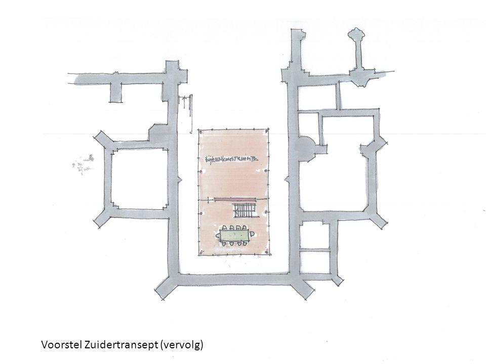 12 Voorstel Zuidertransept (vervolg)