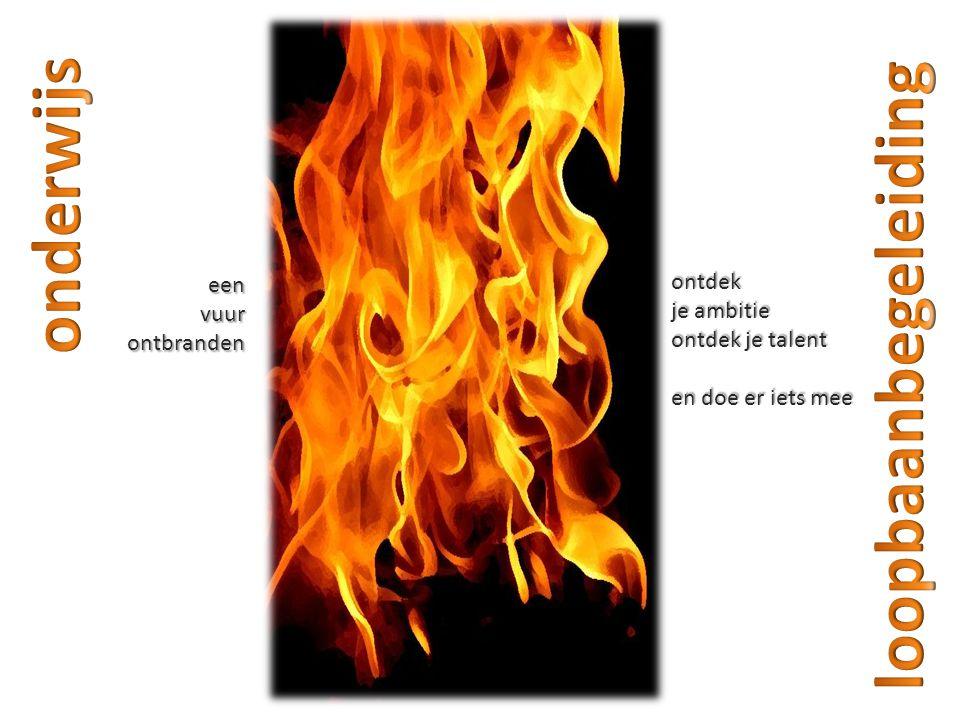 eenvuurontbranden ontdek je ambitie ontdek je talent en doe er iets mee