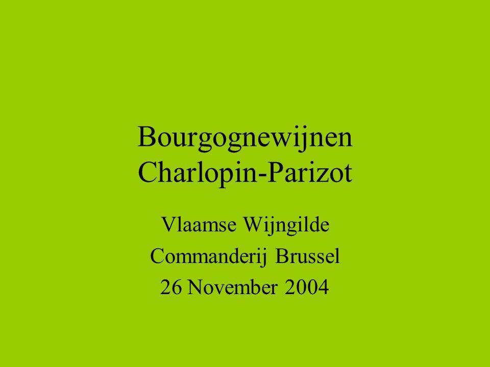Bourgognewijnen Charlopin-Parizot Vlaamse Wijngilde Commanderij Brussel 26 November 2004