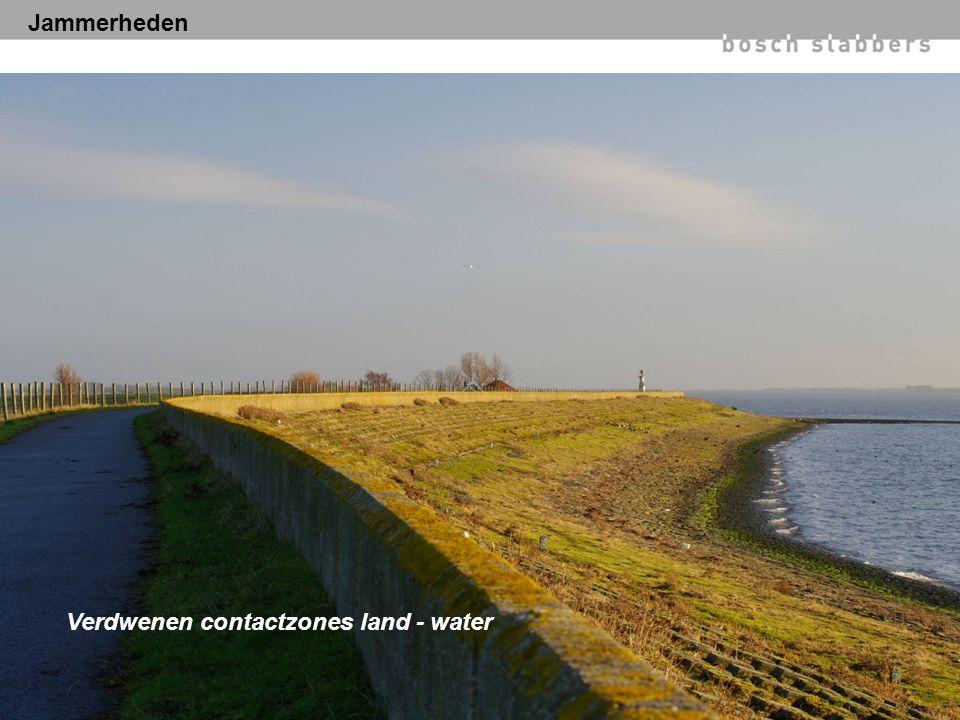 Verdwenen contactzones land - water Jammerheden