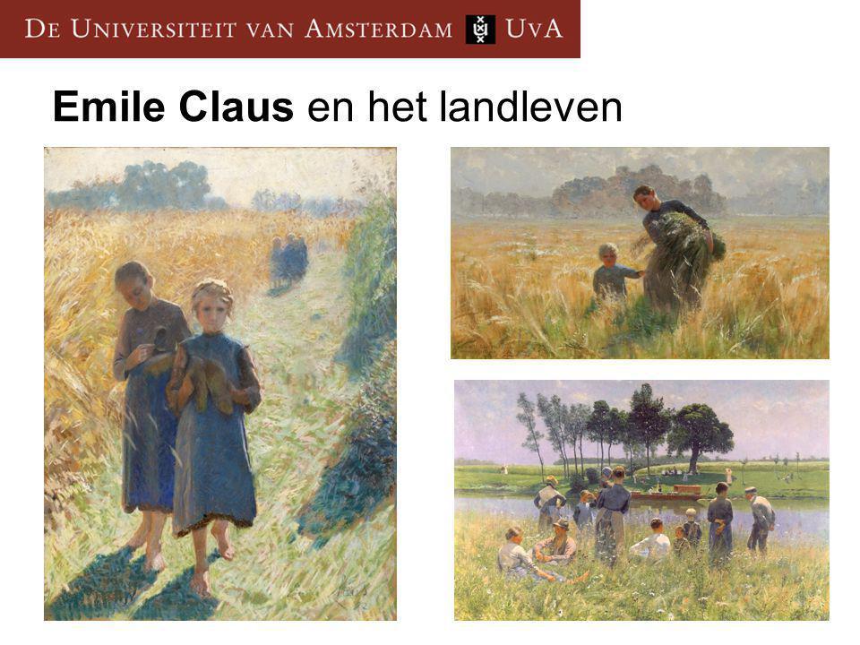 Emile Claus en het landleven