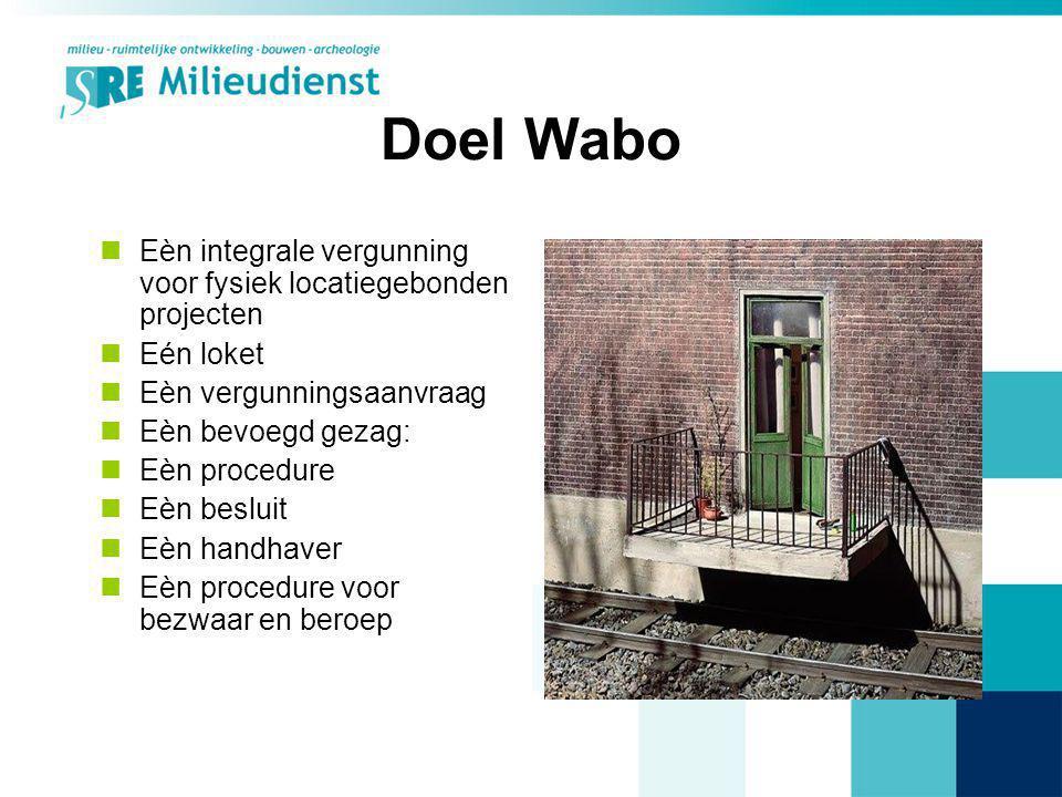 Vergunningsvrij (concept) Nieuwe begrippen: –Hoofdgebouw versus bijbehorend bouwwerk (alg.