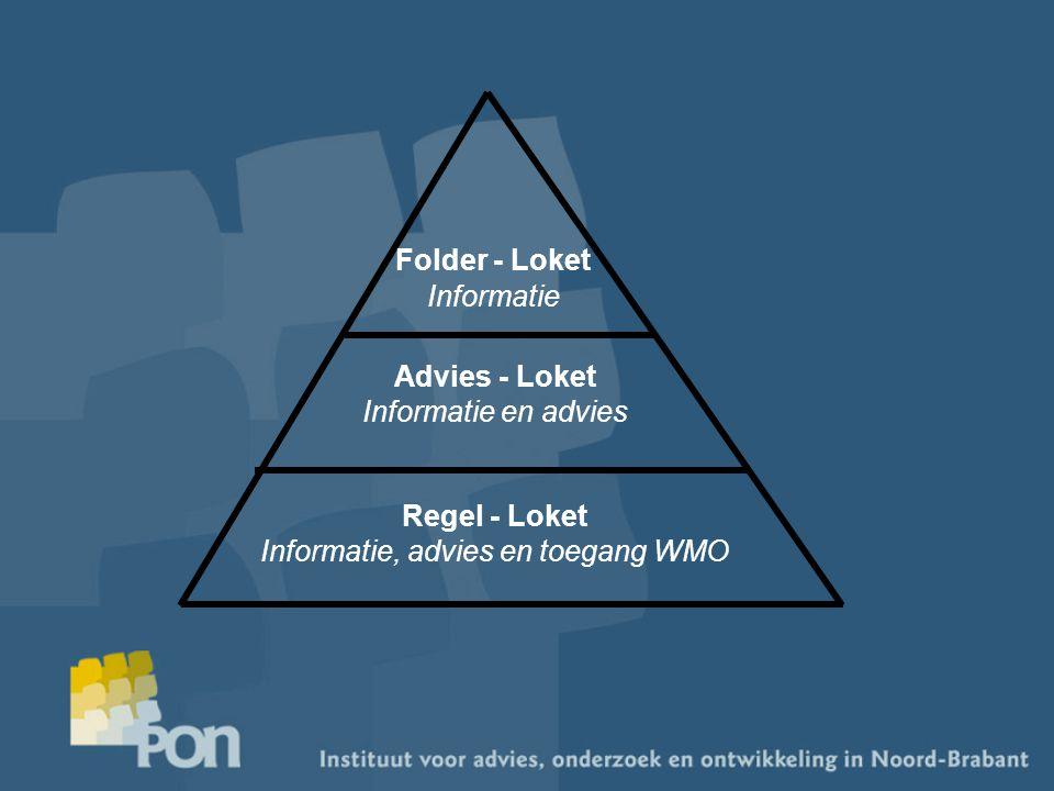 Folder - Loket Informatie Advies - Loket Informatie en advies Regel - Loket Informatie, advies en toegang WMO