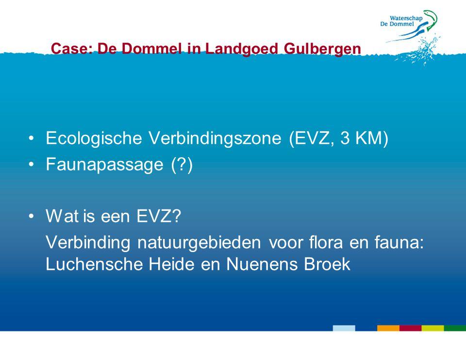 Ecologische Verbindingszone (EVZ, 3 KM) Faunapassage (?) Wat is een EVZ.