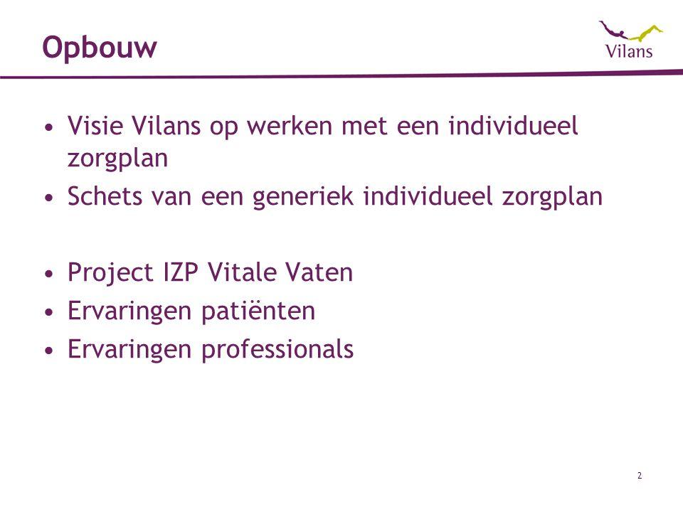 Vraagstellingen project IZP Vitale Vaten Onder welk voorwaarden kan het IZP Vitale Vaten maximaal renderen.
