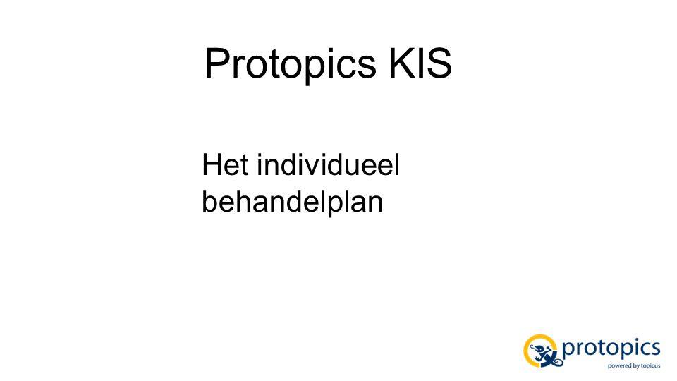 Kenmerken Het zorgplan is gemaakt door Protopics en is een integraal onderdeel van Protopics KIS.