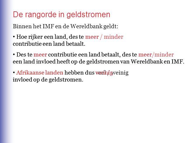 De Nederlandse ontwikkelingshulp gericht op een aantal Afrikaanse landen, de'donor darlings'.