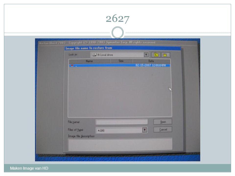 2627 Maken Image van HD
