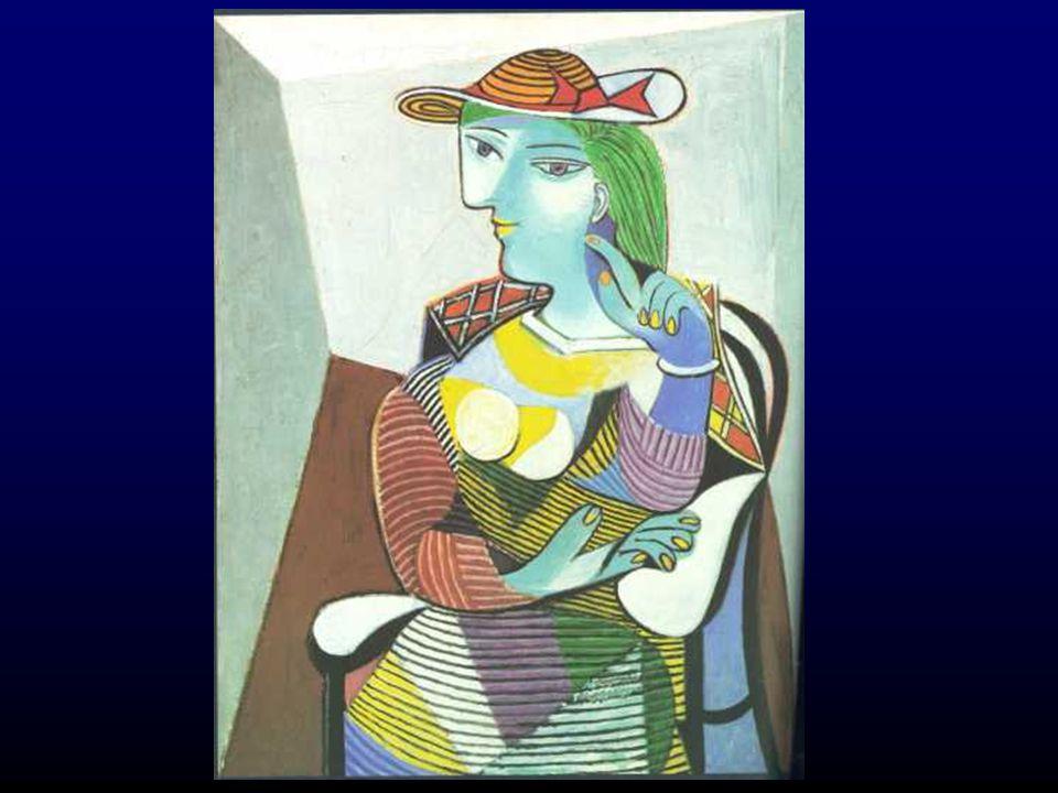 Picasso (1881-1973) Pablo Ruiz Blasco Geboren: Malaga, 1881 Vader Jong talent Meerdere woonplaatsen  excentrieke vrienden