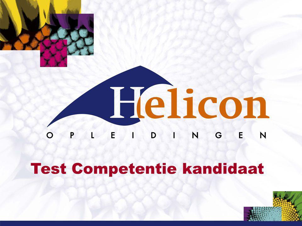 Test Competentie kandidaat