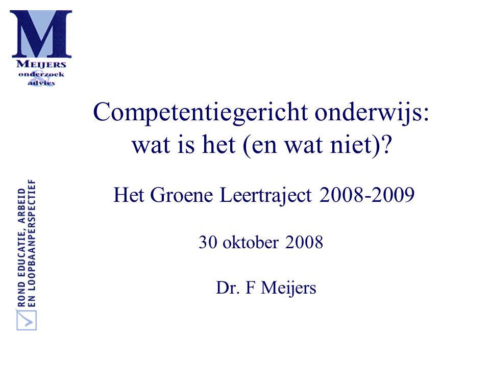 Competentiegericht onderwijs: wat is het (en wat niet).