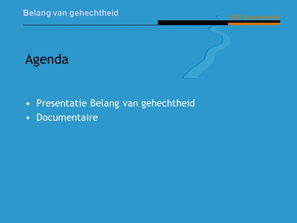Belang van gehechtheid Agenda Presentatie Belang van gehechtheid Documentaire