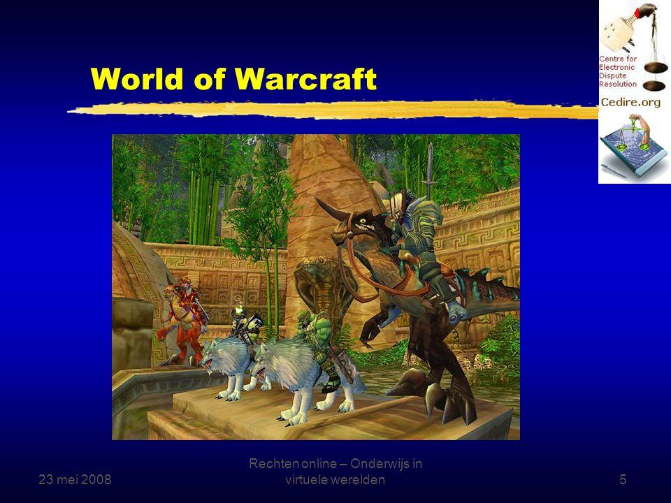 23 mei 2008 Rechten online – Onderwijs in virtuele werelden16 Schriftelijke communicatie zStandaardteksten gebruiken, bijv.