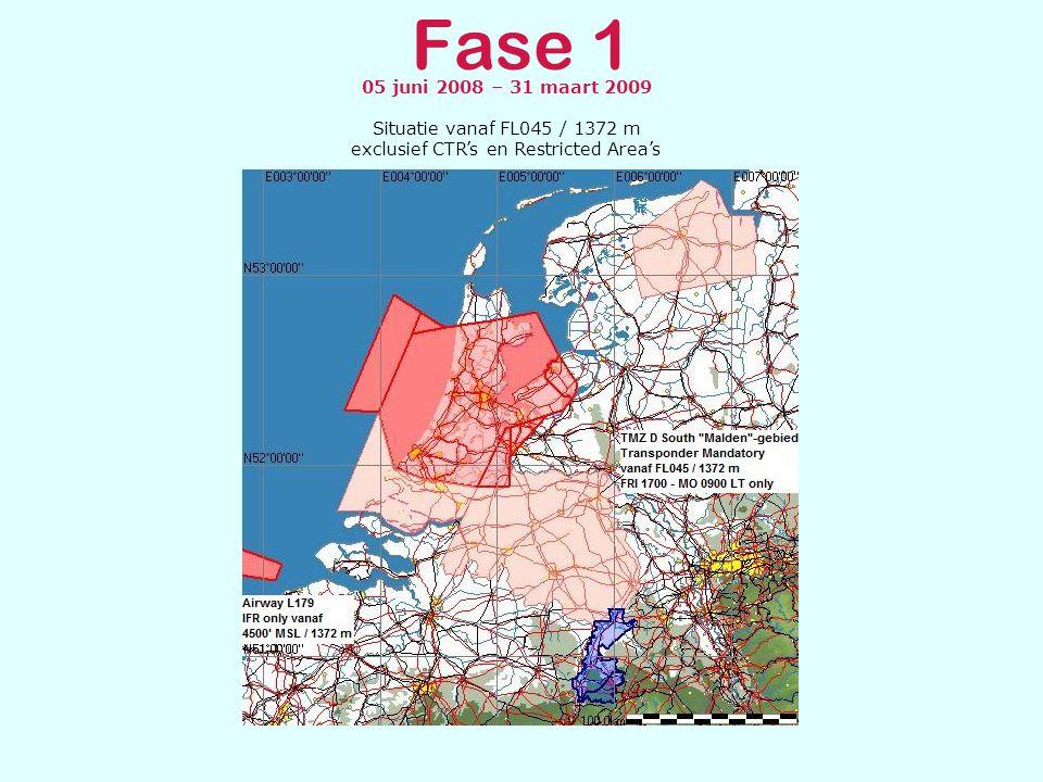 Fase 1, 2 & 3 CAUTION AREA NIEDERRHEIN De Caution Area Niederrhein, gepubliceerd in AIC-B 05/05, blijft bestaan.