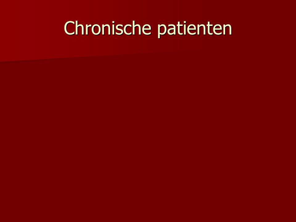 Chronische patienten