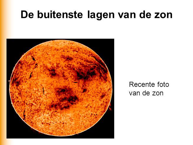 sterrenkunde en ode32 De buitenste lagen van de zon Recente foto van de zon