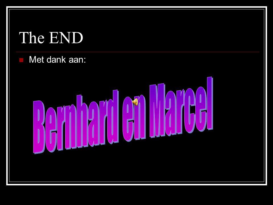 The END Met dank aan: