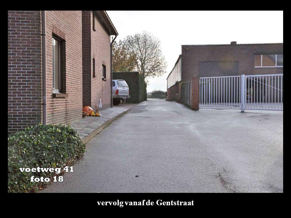 vervolg vanaf de Gentstraat