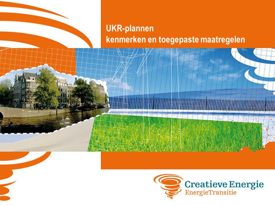 UKR-plannen kenmerken en toegepaste maatregelen