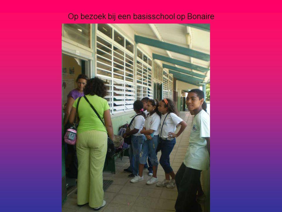 Op bezoek bij een basisschool op Bonaire