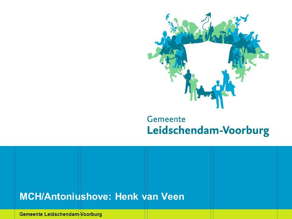 Gemeente Leidschendam-Voorburg MCH/Antoniushove: Henk van Veen