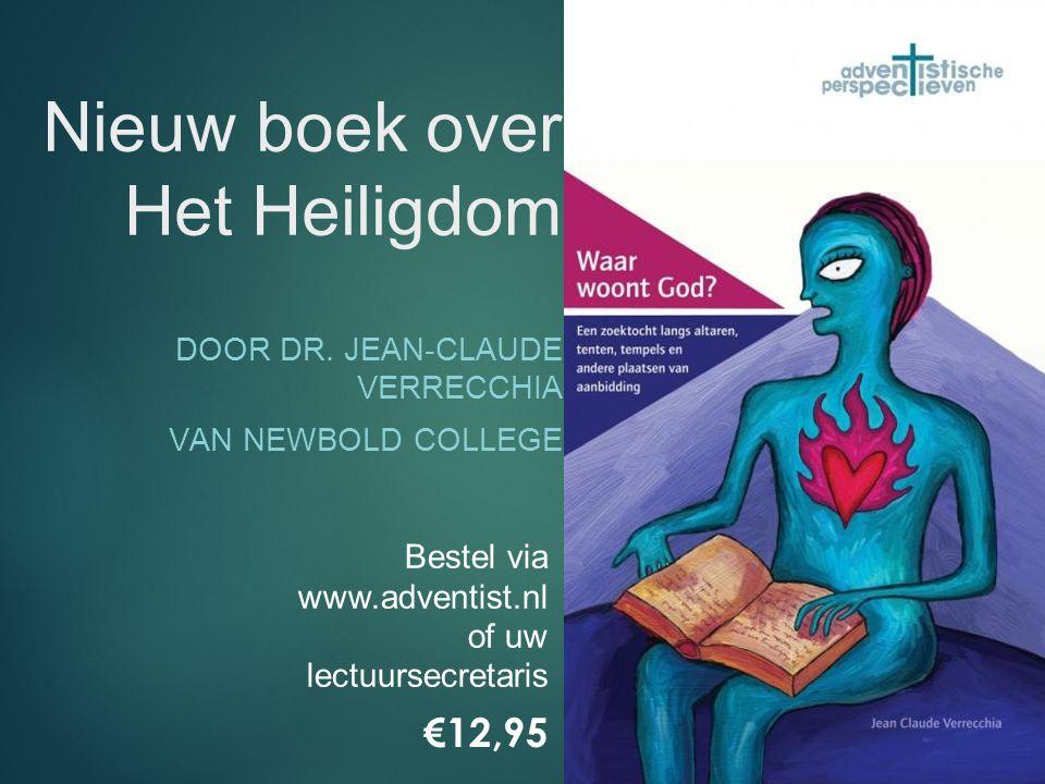 Nieuw boek over Het Heiligdom DOOR DR.
