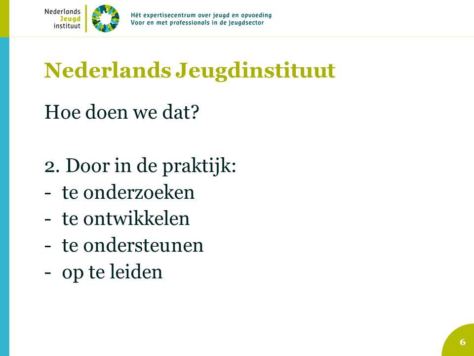Nederlands Jeugdinstituut Hoe doen we dat. 2.