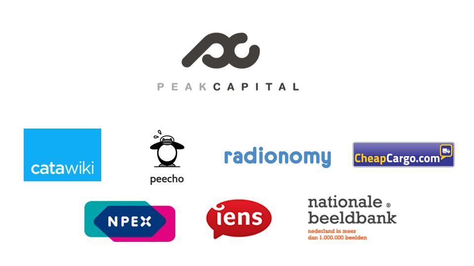Peak Capital Logo's investeringen