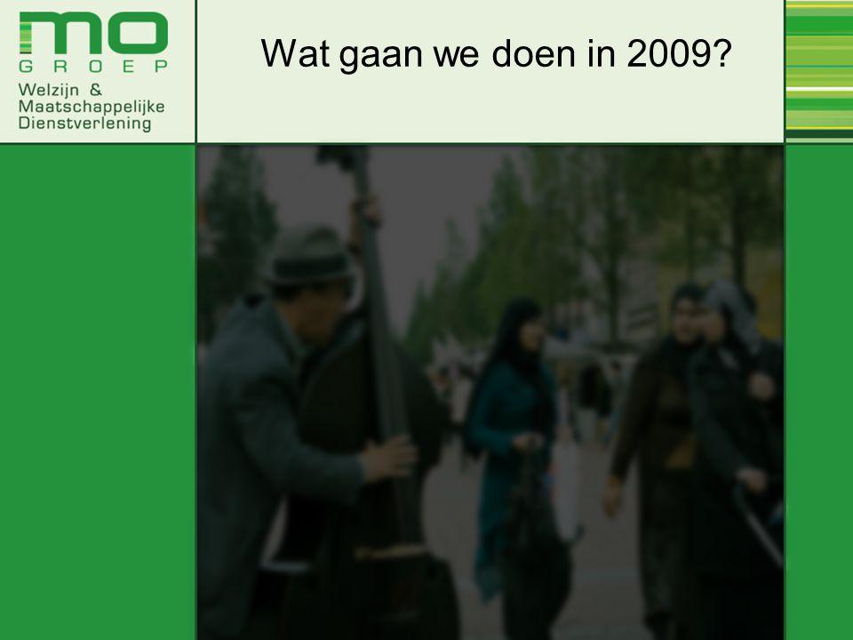 Wat gaan we doen in 2009?