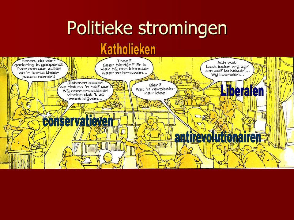 2.2 De confessionelen Hoe ontstonden de confessionele politieke stromingen.