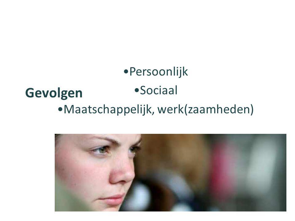 Signaleren van klachten Toepassing richtlijnen Lastmeter (Verpleegkundige) anamnese Vermoeidheid en depressie