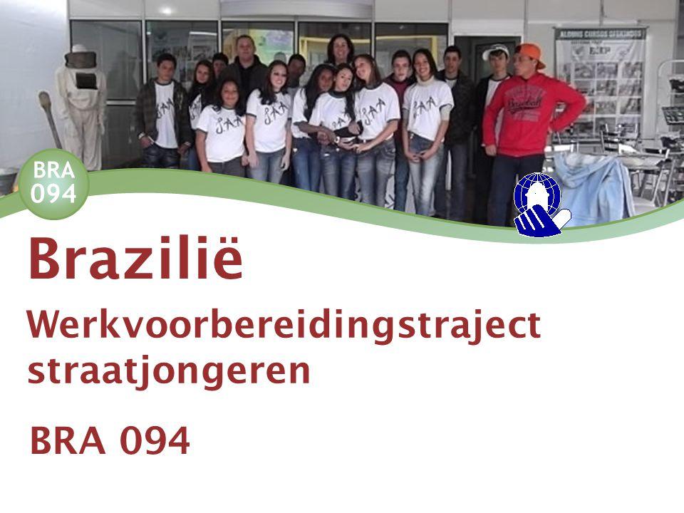 BRA 094 Werkvoorbereidingstraject straatjongeren Brazilië BRA 094