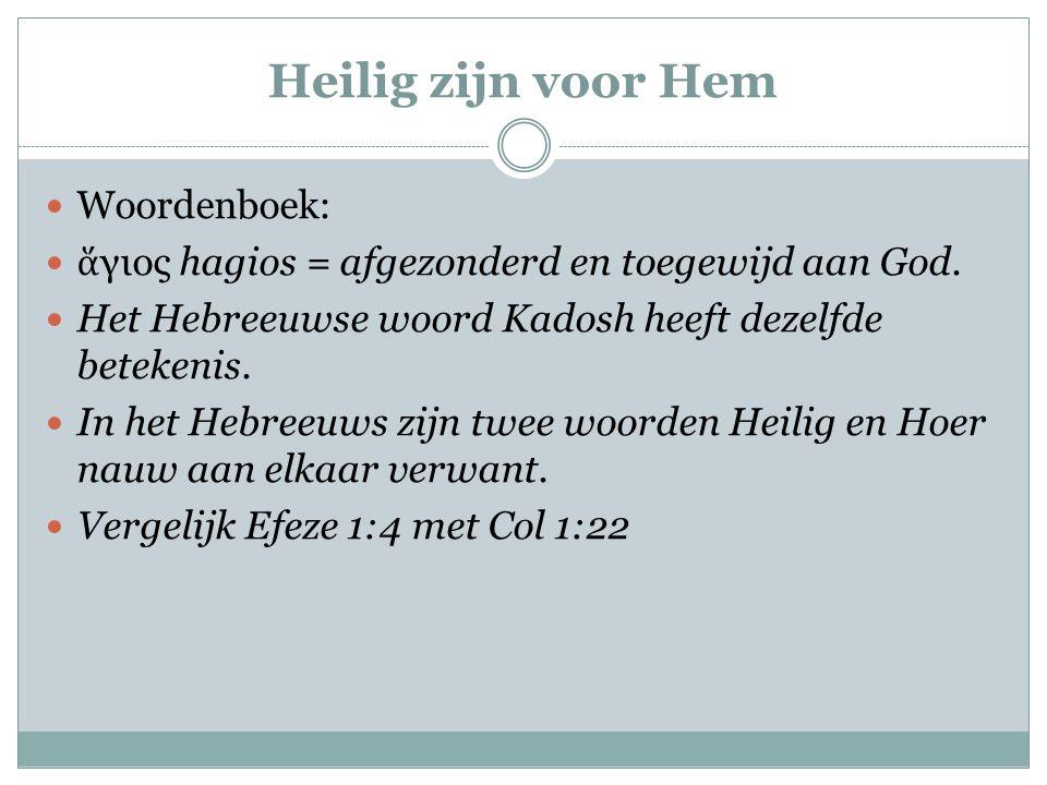 Voorbestemd Woordenboek.
