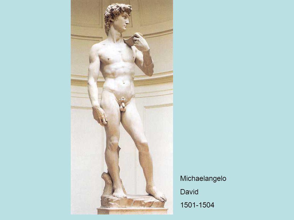 Michaelangelo David 1501-1504