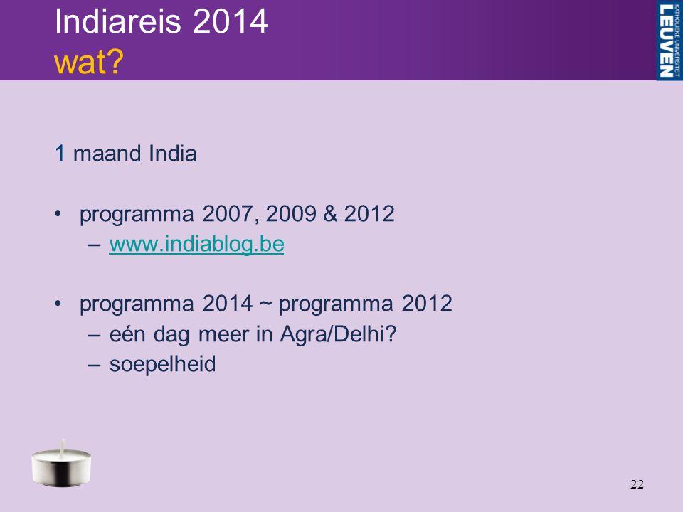 22 Indiareis 2014 wat.