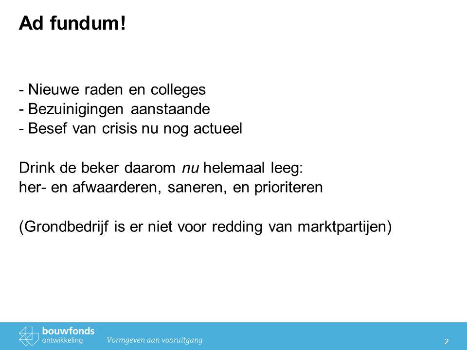 2 Ad fundum.