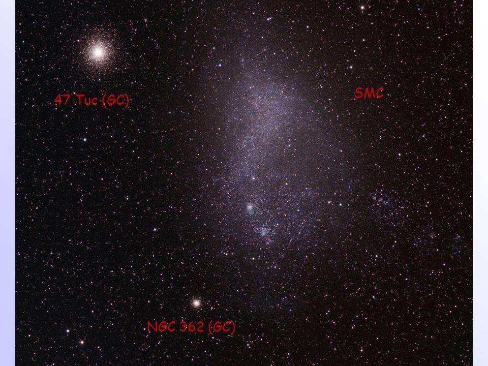 47 Tuc (GC) SMC NGC 362 (GC)
