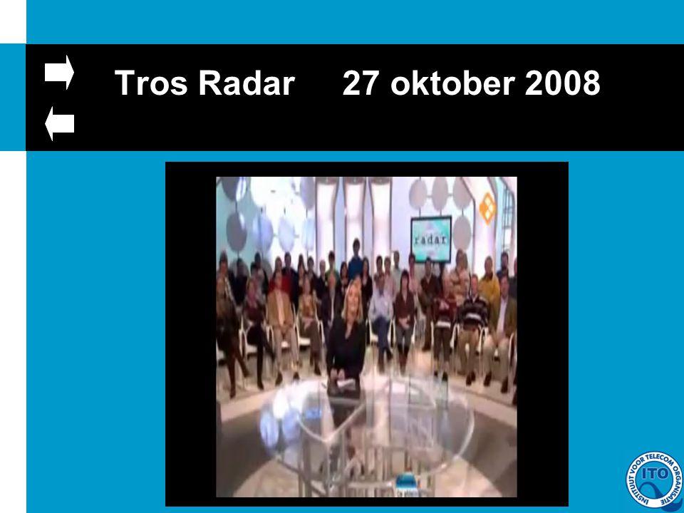 Tros Radar 27 oktober 2008