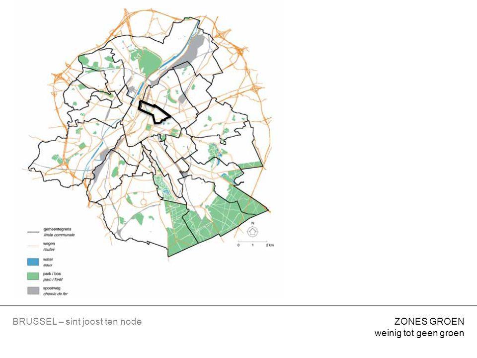KERK sterk gemengd gebied = voor huisvesting – voorzieningen van collectief belang of openbare diensten SINT JOOST TEN NODE BESTEMMINGEN