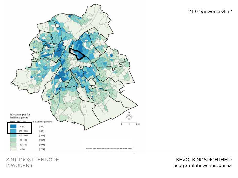 KERK sterk gemengd gebied = voor huisvesting – voorzieningen van collectief belang of openbare diensten SINT JOOST TEN NODE BESTEMMINGEN 4.3.
