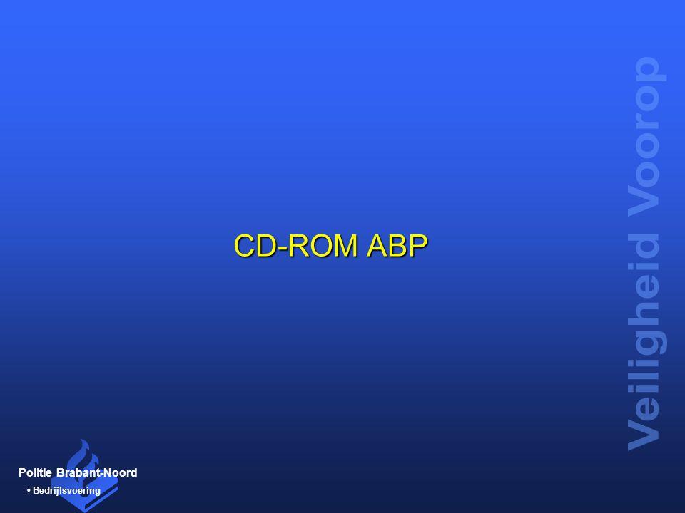 Politie Brabant-Noord Bedrijfsvoering CD-ROM ABP
