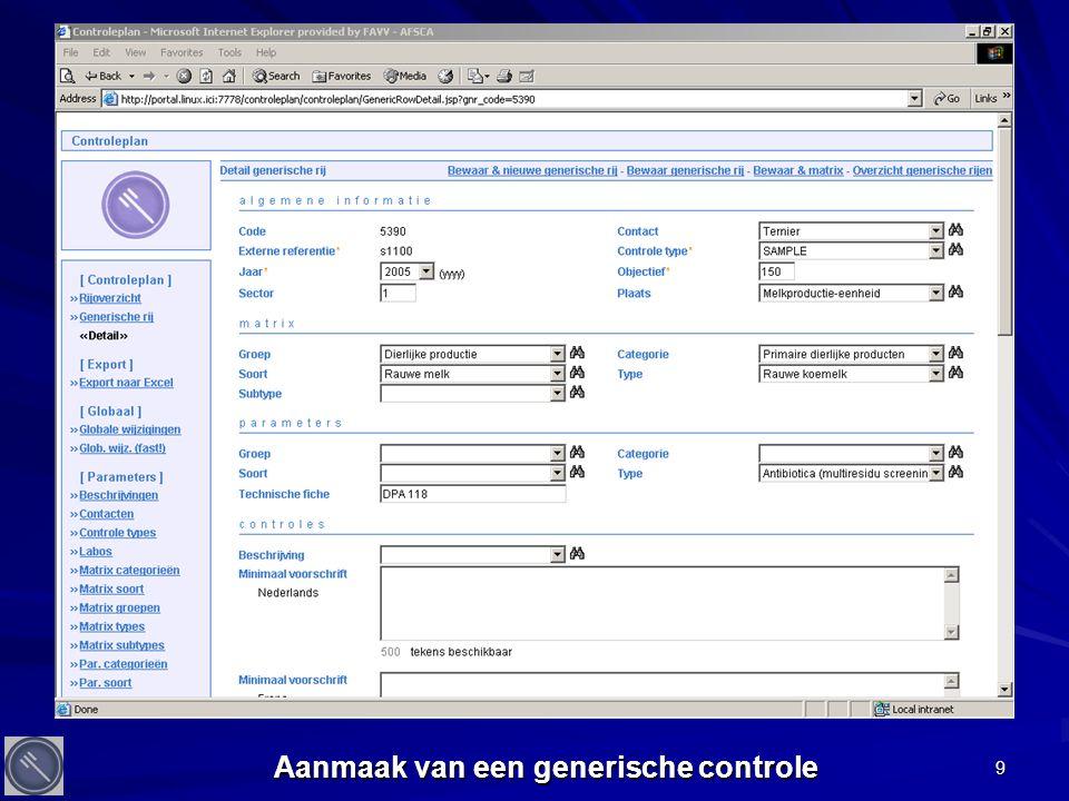 30 Aantal PV's in 2004 2014 op 143745 controles