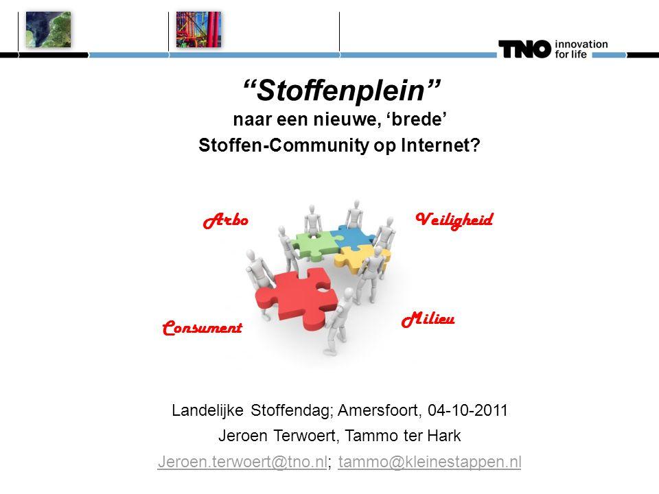 Stoffenplein naar een nieuwe, 'brede' Stoffen-Community op Internet.