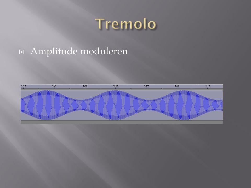  Amplitude moduleren