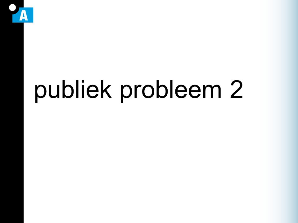 publiek probleem 2