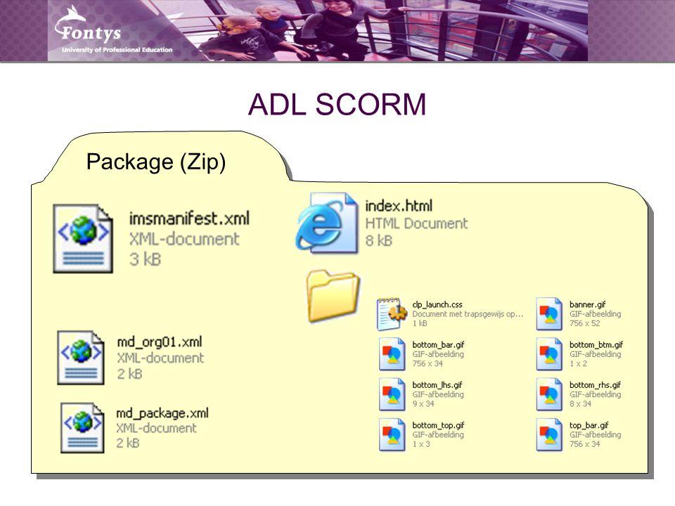 ADL SCORM Package (Zip)