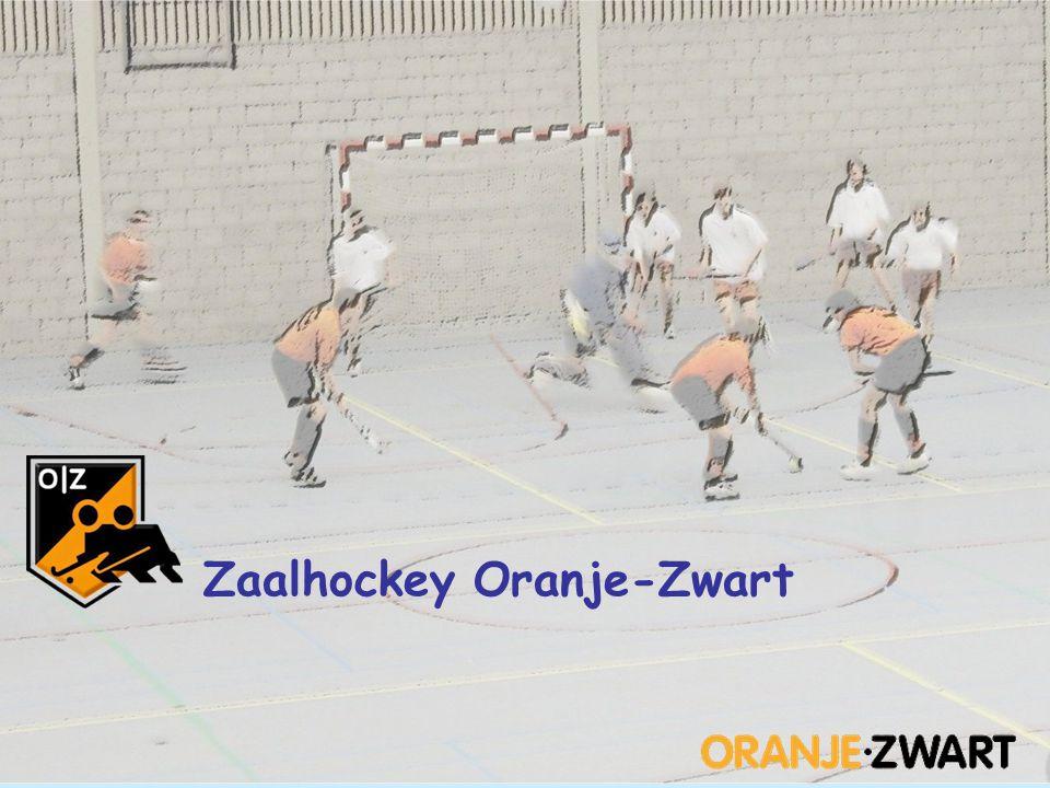 Zaalhockey Oranje-Zwart