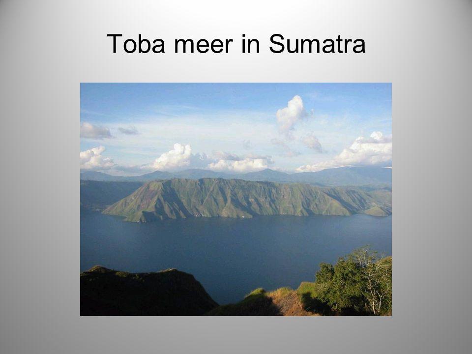 Toba meer in Sumatra