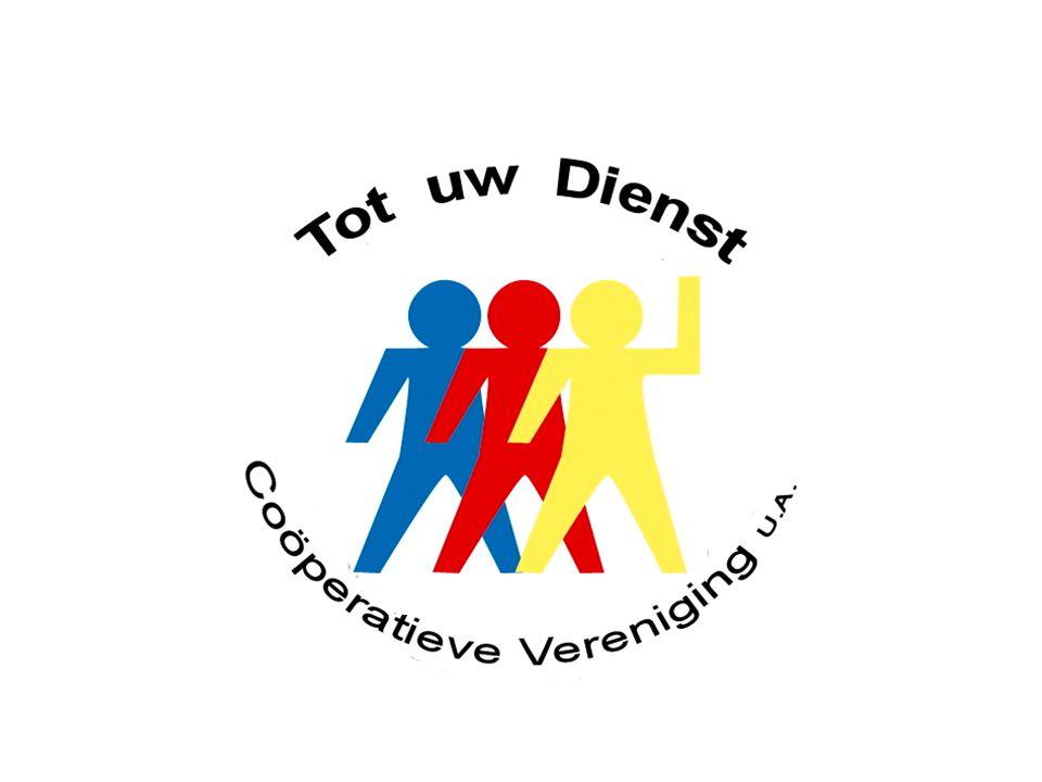 Voorstellen Don van Sambeek, voorzitter Coöperatieve Vereniging Tot uw Dienst Tot uw Dienst is opgericht op 2 november 2005 met als hoofddoel het eigenaarschap van de zorg thuis in handen te leggen van de leden.
