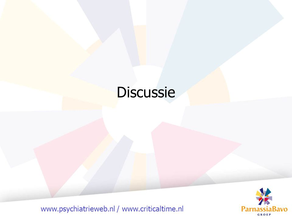 www.psychiatrieweb.nl / www.criticaltime.nl Discussie